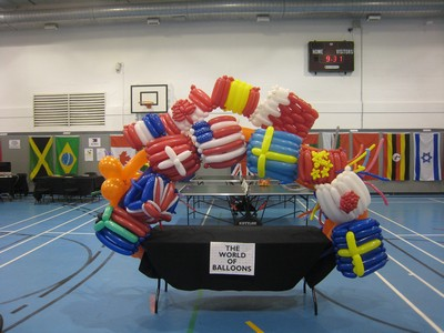 balloon flags of the world