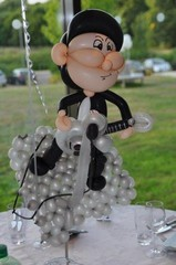 balloon guitarist
