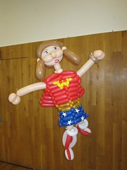 balloon wonderwoman