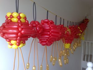 balloon chinese lanterns