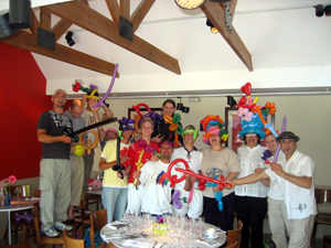balloon modelling workshop